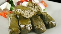 Stuffed Grape Leaves with Lamb Image