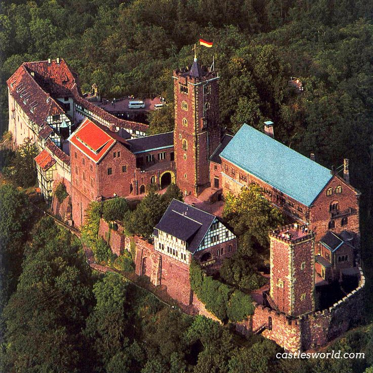 Wartburg, Eisenach, Germany A UNESCO World Heritage Site, this castle was an important inspiration for Ludwig II when he decided to build Neuschwanstein Castle