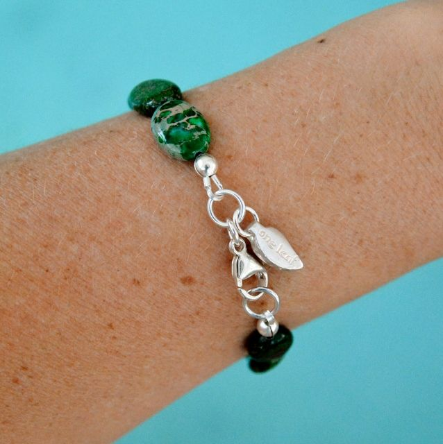 The beautiful Turtle Bay Bracelet, truly one of kind, custom made. Shop Now.