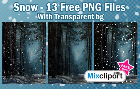 Snow – 13 Free PNG Files With Transparent Backgrounds  Size: 13 mb  Format: 13 PNG. 300 dpi. 1753 х 2480 px  License: Free for personal and commercial purposes.
