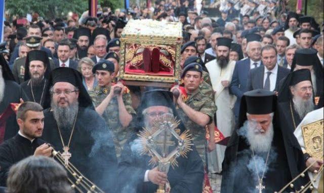 Πιερία: Περισσότεροι από 150.000 πιστοί προσκύνησαν το σκή...