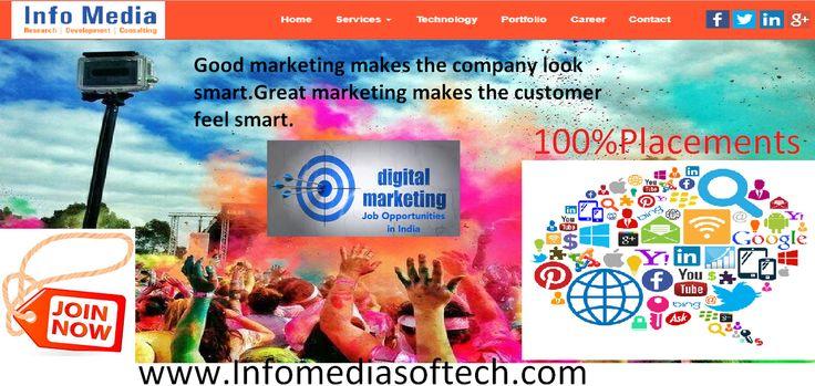 Digital Marketing Intern jobs, careers, employment in