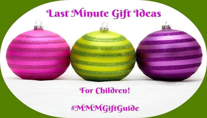 Last Minute Gift Ideas For The Kids On Santa's List #MMMGiftGuide