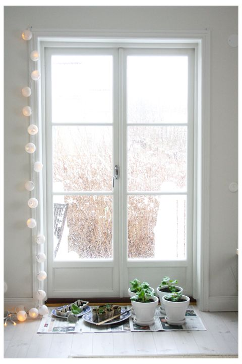 Love these french doors for my kitchen