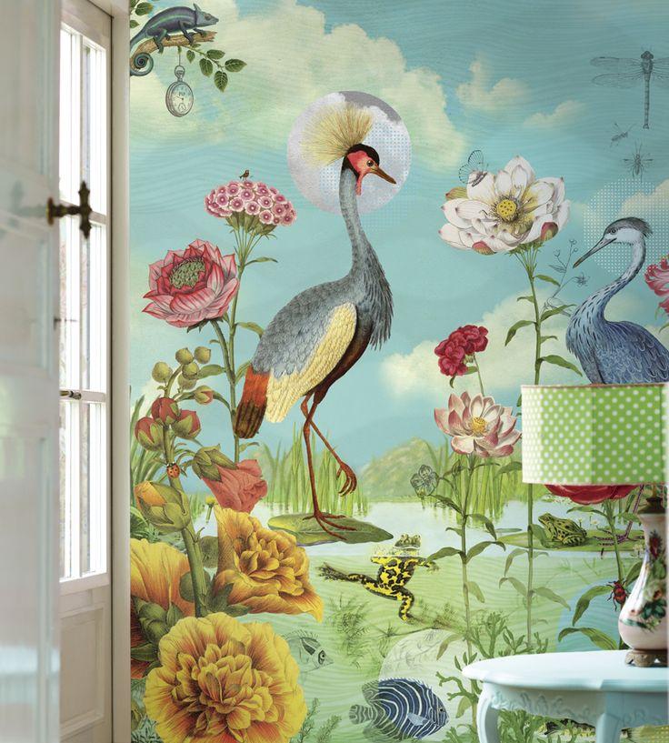 Kiss the Frog Wallpaper by Brian Yates | Jane Clayton