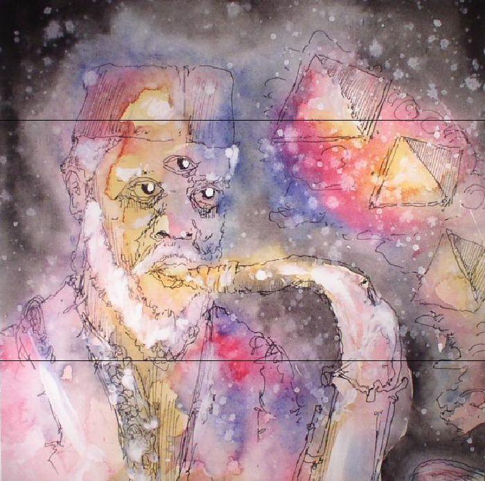 The artwork for the vinyl release of: Anthony Pasquarosa | John Moloney - My Pharaoh My King (Feeding Tube) #music SoulJazz