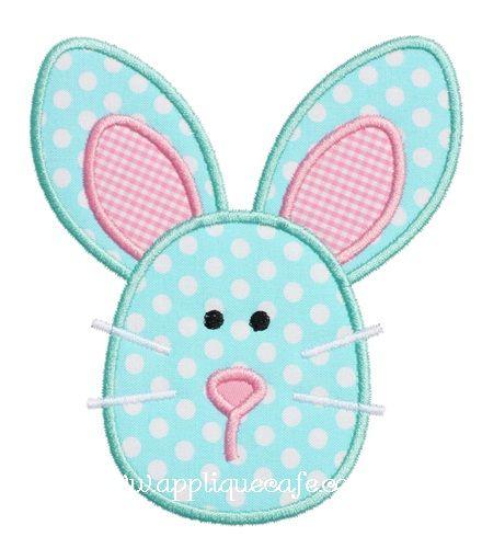 Bunny 4 Applique Design