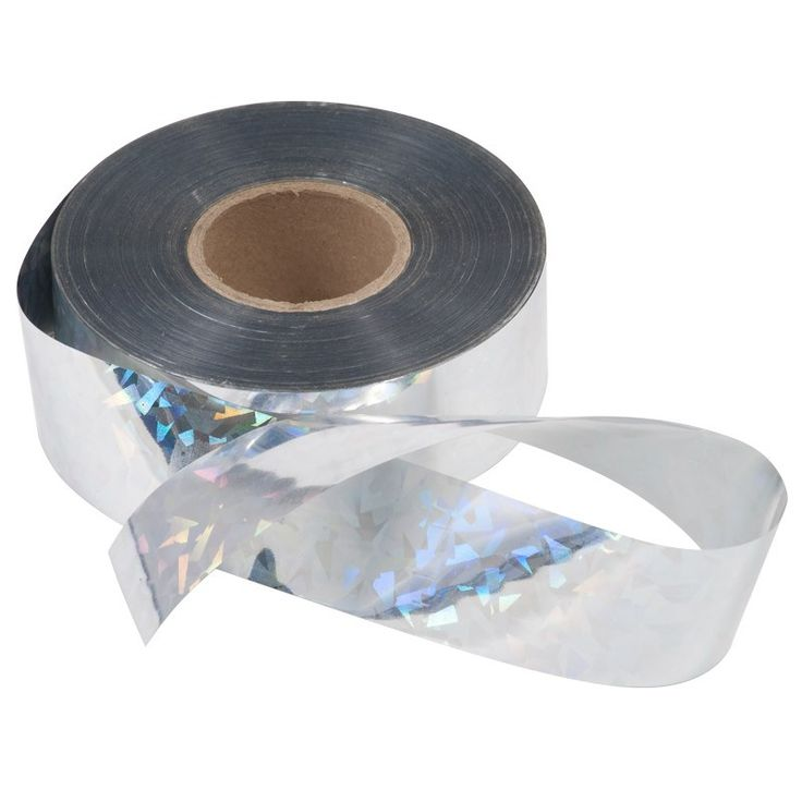 Bird Scare Tape - Rainbow (500' Roll) at www.GrowOrganic.com - 16 Best Images About Keep Birds Away! On Pinterest Gardens, The