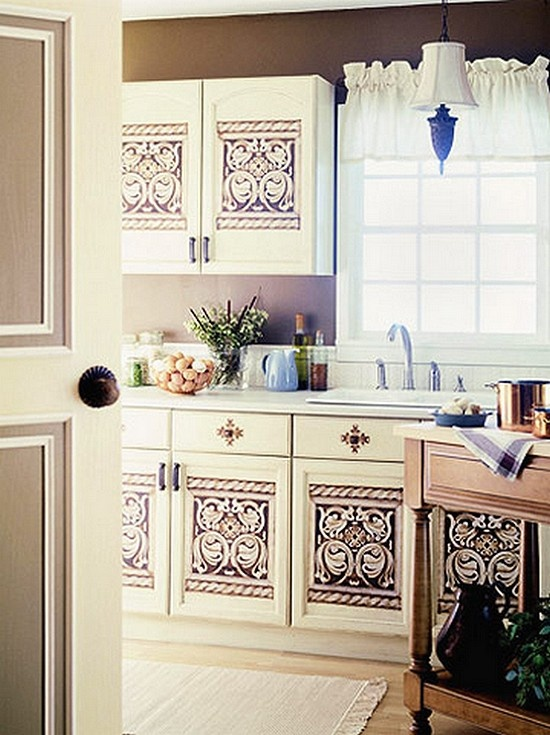 17 Best images about stenciled cabinet doors on Pinterest ...