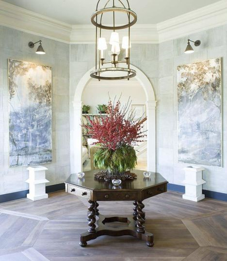 Round Foyer Design : Frog hill designs circular round entryway foyer with