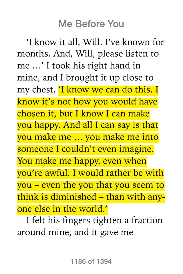 It always boils down to a choice. #Lou #MeBeforeYou #JojoMoyes