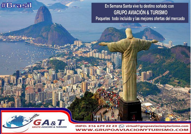 Conoce Colombia y el mundo con Grupo Aviación & Turismo. entra ya a http://www.grupoaviacionyturismo.com/turismo.php