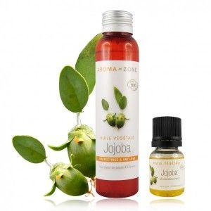 démaquillant naturel = huile de jojoba