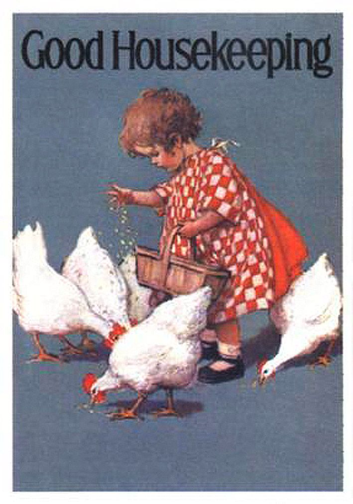 """""""Good Housekeeping"""" vintage magazine front cover print"""