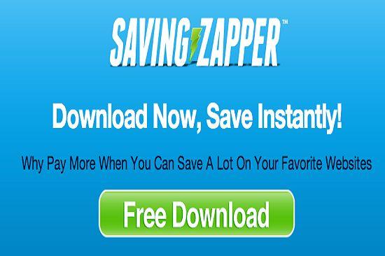 Saving Zapper est une infection adware agressif et tenace qui est annoncé par aucun téléchargement