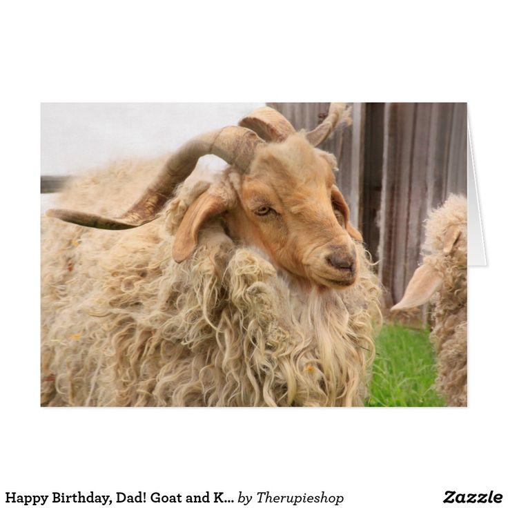 Happy Birthday, Dad! Goat and Kid