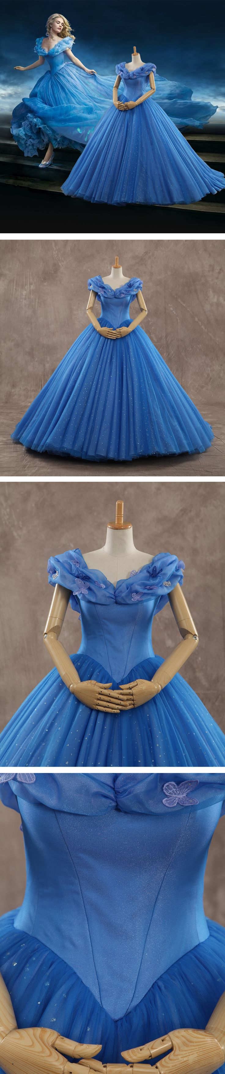 Get Cinderella's dress here! Fulfill your princess dress now!! *cough TAMARA cough* go get the dress