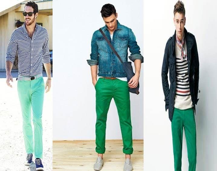 Αποτέλεσμα εικόνας για pantalon verde hombre