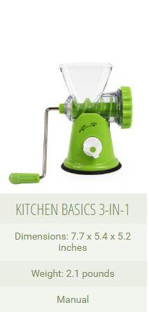 KITCHEN BASICS 3-IN-1   www.chasethatilove.com