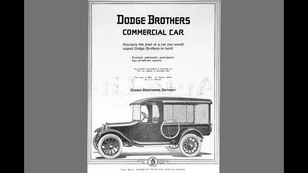 The first Dodge vehicles rolled off the line in November of 1914 and soon proved their dependability... - Dodge
