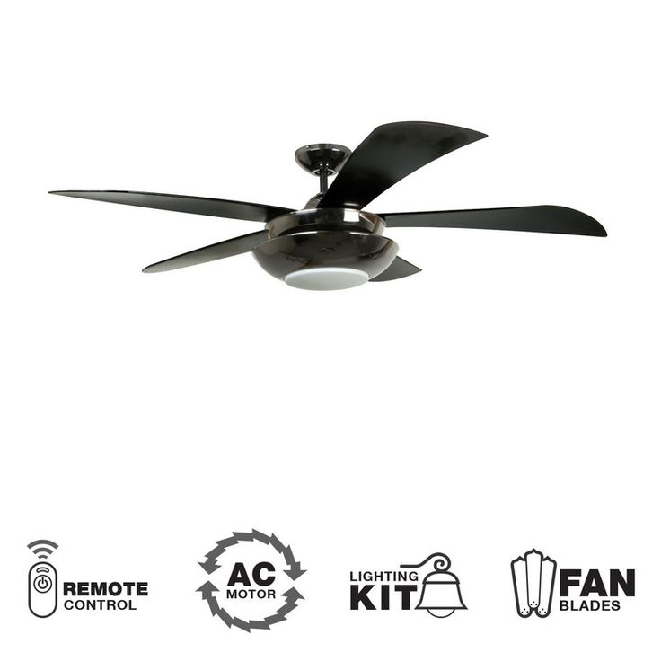 30 best ceiling fans images on pinterest blankets ceilings and view the ellington fans centric 54 5 blade indoor ceiling fan blades light aloadofball Choice Image