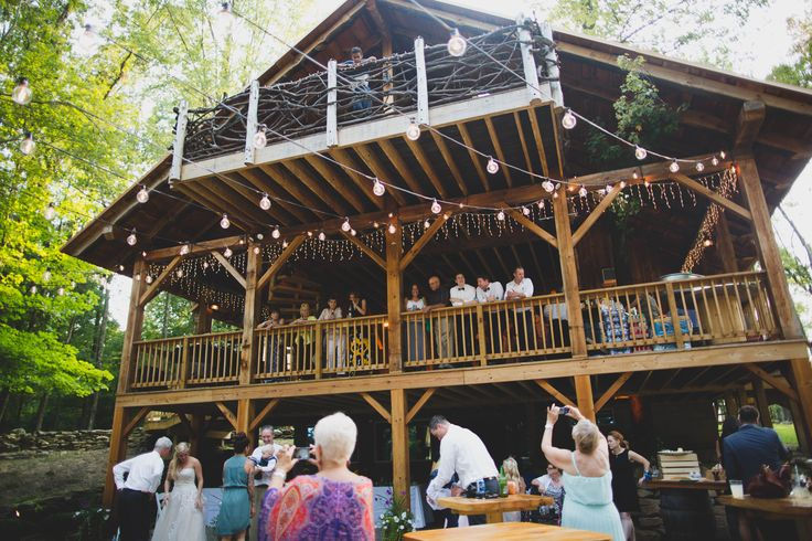 Outdoor/indoor wedding venue.  Check out www.themohicans.net