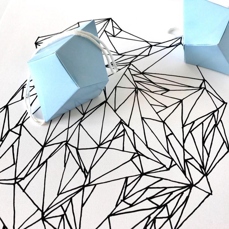 New geometric digital print in my shop
