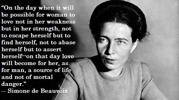 simone de beauvoir woman as other+essay Language in india wwwlanguageinindiacom issn 1930-2940 14:3 as the 'other' the title of the essay sex by simone de beauvoir 382 woman as 'other.