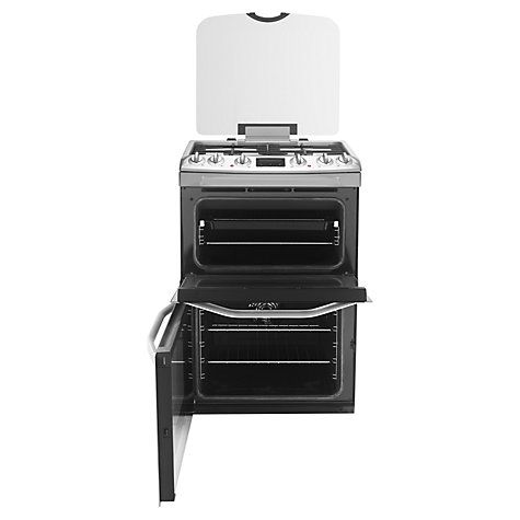 Buy John Lewis JLFSMC613 Dual Fuel Cooker, Stainless Steel Online at johnlewis.com Programmable timer