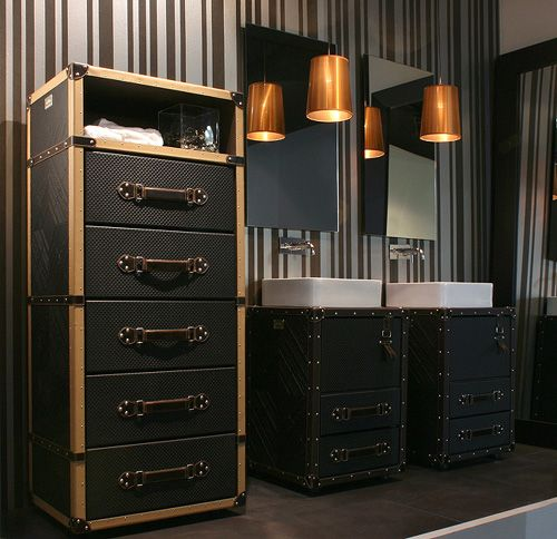Unusual Bathroom Furniture - cosmopolitan style by Collection Alexandra