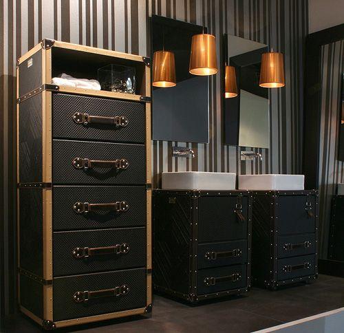 Unusual Bathroom Furniture - cosmopolitan style by Collection Alexandra