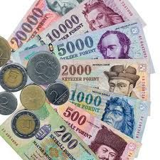 Hungarian Currency-Exchange Rate  2012 - 1US$=217 Hungarian Forint