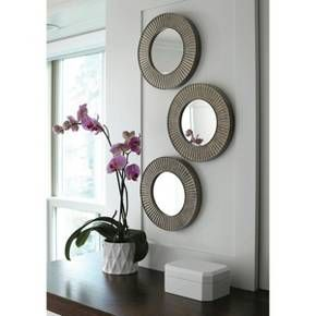 Threshold™ 3 Pack Sunburst Mirror Grey