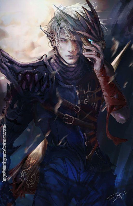 Vim, Sohn zweier mächtiger roter Drachen und Gefolgsmann von Sonnengott Faustus.