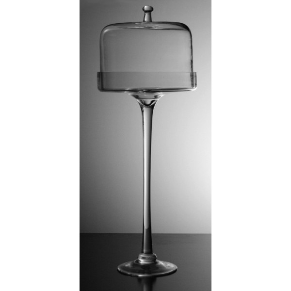 tall glass cake stand  sc 1 st  Pinterest & 22 best Cake Plate images on Pinterest | Cake plates Vintage cakes ...