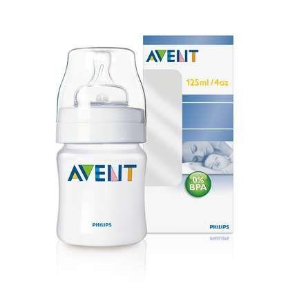 Avent BPA Free Bottle 4 oz - 6 Pack