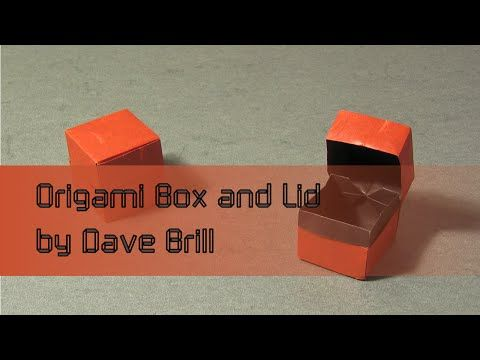 Box and Lid (Dave Brill): Instructions | Happy Folding