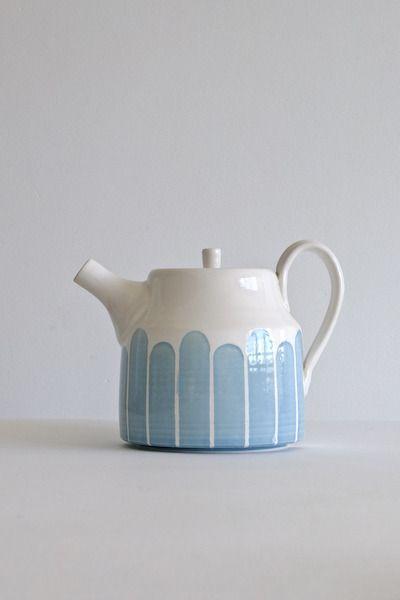 Dahlhaus handmade ceramic teapot. I love that the glaze looks like its dripping