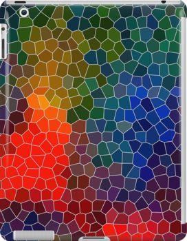 Abstract Mosaic 3 - iPad case