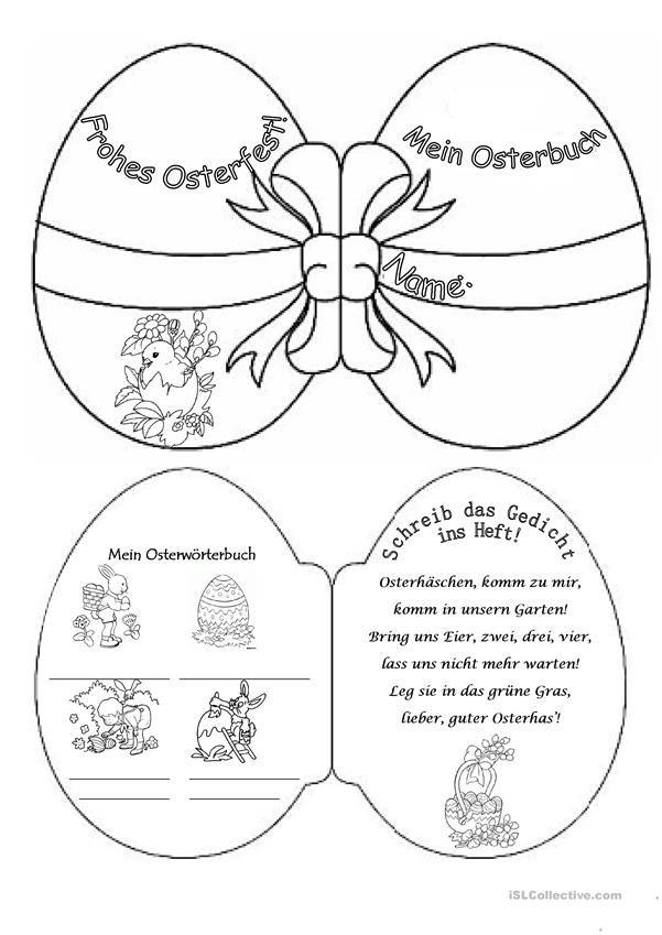 Osterbuch In 2020 Ostern Bucher Basteln