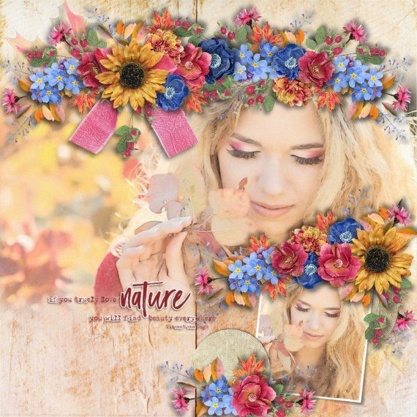 Kit Look Out Of The Window by DitaB Designs. Template Highlands by Heartstrings Scrap Art. Photo from Desktop Nexus.