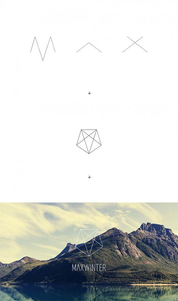 Logoentwicklung für Max Winter. Er ist Mediengestalter für Digital und Print.