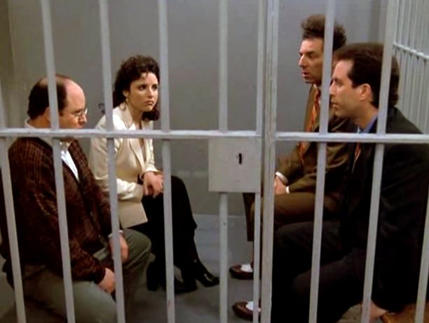 Yes, the Seinfeld finale was doomed—but that doesn't mean it wasn't great