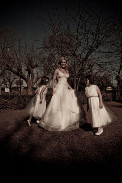 """Sydney Wedding Dresses - Corston Couture - The """"Sugar and Spice"""" Gown"""