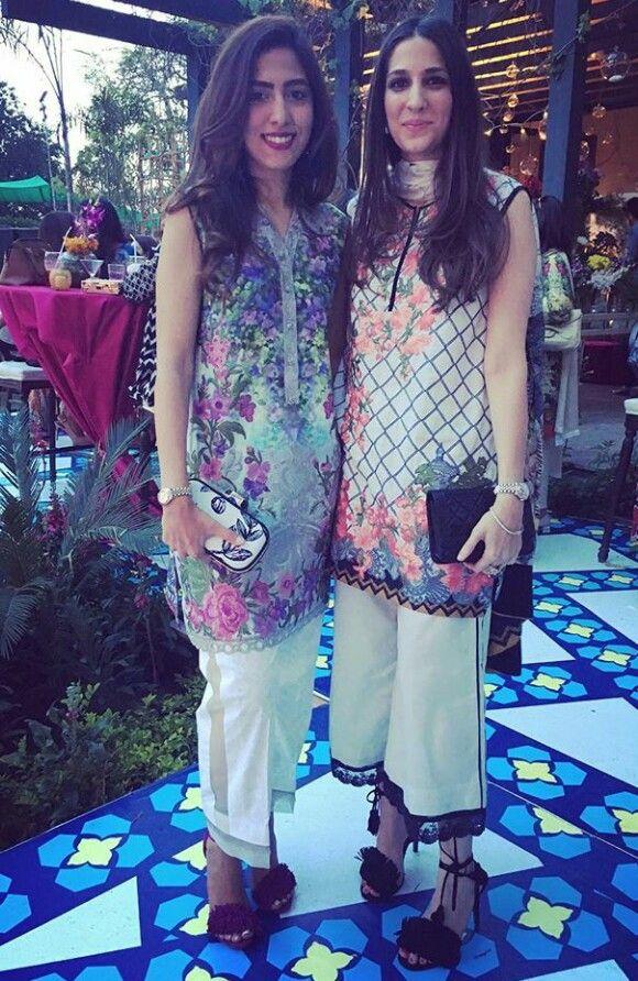 Pakistani lawn outfits by Élan.