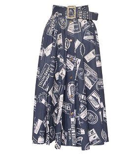 Винтажная юбка Chanel