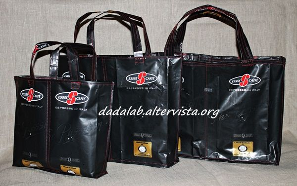 Borse con buste del caffè - Coffee bags