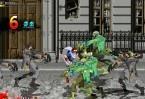 Para os fãs de fliperama, esse jogo de luta é clássico! Destrua todos os zumbis e use o ataque especial quando possível.