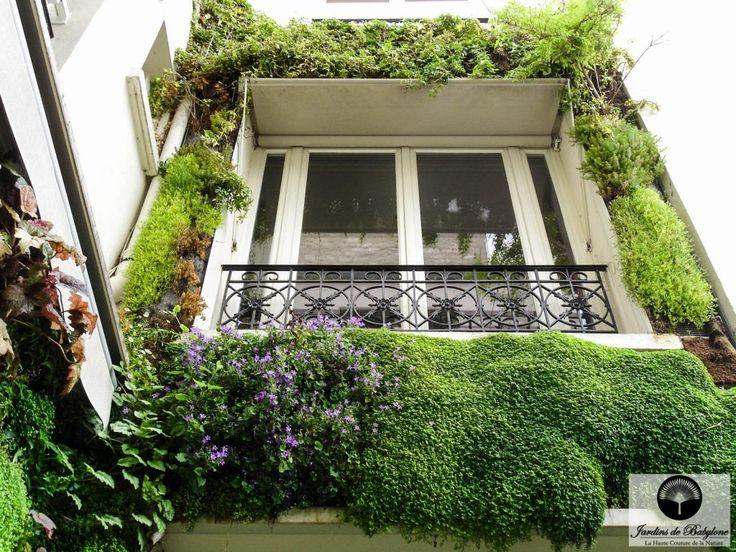 façade végétalisation | Mur végeétal extérieur | Jardins de Babylone