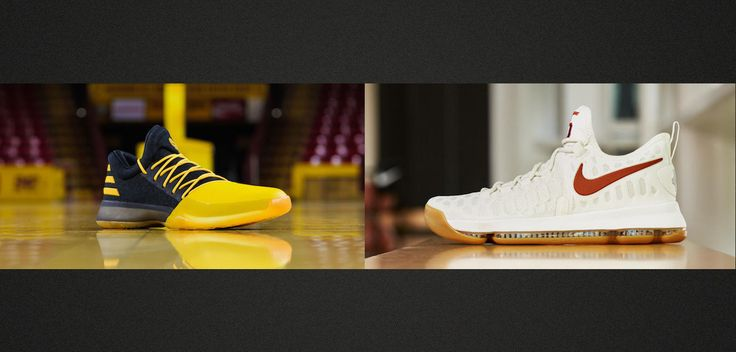 Latest Sneaker Trend: Cross-Promoting NBA Stars And Alma Maters